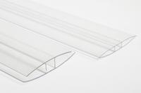 """Spojovací PC """"H"""" profil 2m 10mm"""
