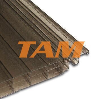 Click 16, tloušťka 16mm, rozměr 250x4000 mm, barva bronz