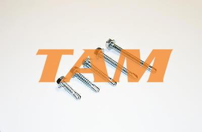 Tex se šestihranou hlavou  do kovové konstrukce 6,3x38