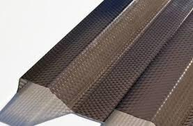 Trapézový polykarbonát MIKROPRIZMA 1265x4000mm bronz