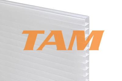 VÝPRODEJ - Komůrkový polykarbonát tl.10mm 2100x1270mm opál