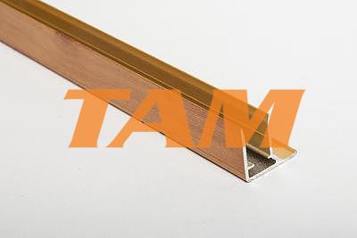 """Ukončovací AL """"U"""" profil s prodlouženou hranou 6,4m 16mm borovice"""