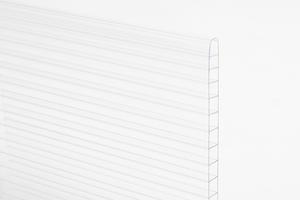 Komůrkový polykarbonát tl.10mm 2100x6000mm čirá