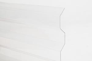 Trapézový polykarbonát 1265x6000mm čirá